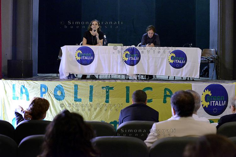 Roma, 20 Giugno 2015<br /> Teatro 2 <br /> Assemblea nazionale di Green Italia.<br /> La politica con un altro colore