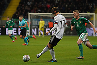 Debütant Niklas Stark (Deutschland Germany) gegen George Saville (Nordirland, Northern Ireland) - 19.11.2019: Deutschland vs. Nordirland, Commerzbank Arena Frankfurt, EM-Qualifikation DISCLAIMER: DFB regulations prohibit any use of photographs as image sequences and/or quasi-video.