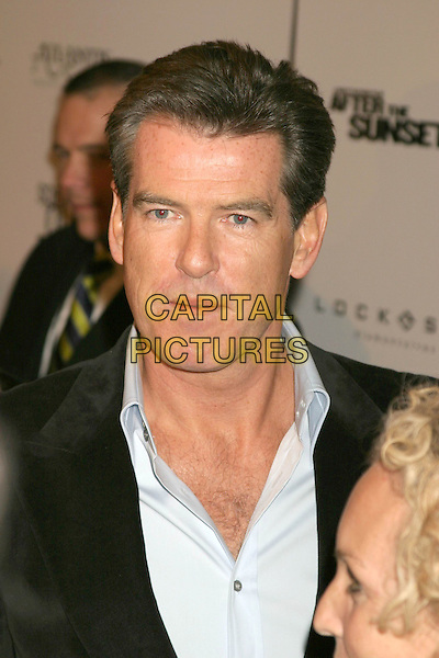 "PIERCE BROSNAN .""After The Sunset"" - New York Premiere - Arrivals, New York City, New York .November 9th, 2004.headshot, portrait.www.capitalpictures.com.sales@capitalpictures.com.© Capital Pictures."