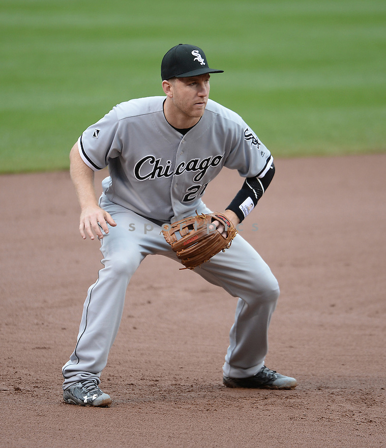 Chicago White Sox Todd Frazier (21) during a game against the Baltimore Orioles on May 1, 2016 at Oriole Park at Camden Yards in Baltimore, MD. The White Sox beat the Orioles 7-1.