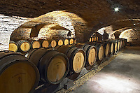 barrel aging cellar domaine comte senard aloxe-corton cote de beaune burgundy france