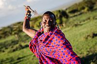 Maasai of Maji Moto, Kenya