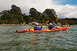 New Zealand, South Island: Kayaking from Kaiteriteri along the Abel Tasman National Park coast. Photo copyright Lee Foster. Photo # newzealand125024