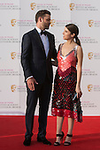 London, UK. 8 May 2016. Pictured: American singer Justin Timberlake with American actress and singer Anna Kendrick. Red carpet arrivals for the House Of Fraser British Academy Television Awards at the Royal Festival Hall.