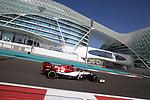 04.12.2019, Yas Marina Circuit, Abu Dhabi, Formel 1 Testfahrten Abu Dhabi 2019<br />, im Bild<br />Antonio Giovinazzi (ITA#99), Alfa Romeo Racing<br /> <br /> Foto © nordphoto / Bratic