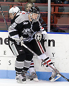 Tyler McNeely (NU - 94), Matt Germain (Providence - 25) - The Northeastern University Huskies defeated the Providence College Friars 3-1 (EN) on Tuesday, January 19, 2010, at Matthews Arena in Boston, Massachusetts.