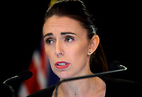 Prime Minister of New Zealand Jacinda Ardern. Post Cabinet media press conference at Parliament in Wellington, New Zealand on Monday, 18 March 2019. Photo: Dave Lintott / lintottphoto.co.nz