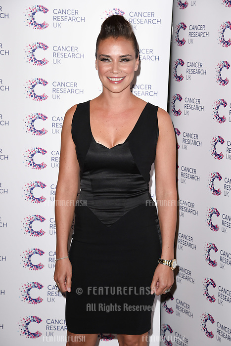 Liberty X (Jessica Pietersen) arriving at James Ingham&rsquo;s Jog On to Cancer, in aid of Cancer Research UK at The Roof Gardens in Kensington, London.  <br /> 12 April  2017<br /> Picture: Steve Vas/Featureflash/SilverHub 0208 004 5359 sales@silverhubmedia.com