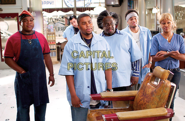 LEONARD EARL HOWZE, TROY GARITY, KENAN THOMPSON, CEDRIC THE ENTERTAINER, MICHAEL EALY & EVE.in Barbershop 2: Back In Business.Filmstill - Editorial Use Only.CAP/AWFF.supplied by Capital Pictures.