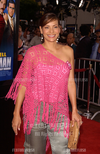 Actress CONSTANCE MARIE at the Hollywood premiere of Anchorman..June 28, 2004
