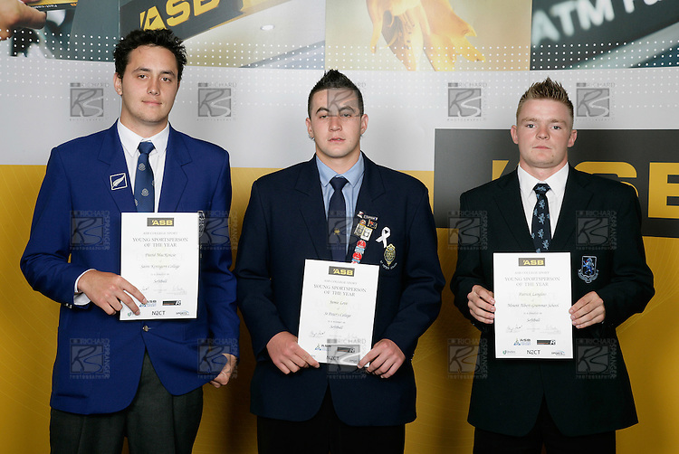 Softball Boys Finalists. ASB College Sport Young Sportsperson of the Year Awards 2006, held at Eden Park on Thursday 16th of November 2006.<br />