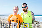 Enjoying the 2017  Ballyheigue, Half on the Head & 10km Run on Saturday were David Kennedy and Richard McBride