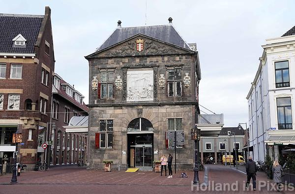 Nederland - Gouda - December 2018.  De Waag in Gouda.   Foto Berlinda van Dam