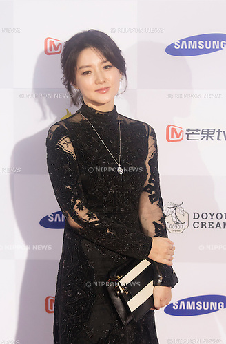 Lee Young-ae, Sep 10, 2015 : South Korean actress Lee Young-ae attends a red carpet event of Seoul International Drama Awards 2015 in Seoul, South Korea. (Photo by Lee Jae-Won/AFLO) (SOUTH KOREA)