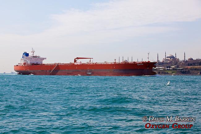 Oil Tanker & Blue Mosque