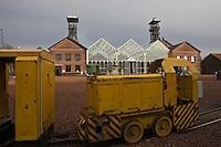 Europe/France/Nord-Pas-de-Calais/59/Nord/Lewarde: Centre historique minier installé sur le site de l'ancienne fosse Delloye -Bâtiment d'extraction.
