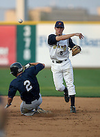 Brian Friday / State College Spikes..Photo by:  Bill Mitchell/Four Seam Images