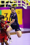 Hitomi Tada (JPN), <br /> AUGUST 30, 2018 - Handball : <br /> Women's Bronze Medal Match <br /> between Japan 43-14 Thailand <br /> at GOR Popki Cibubur <br /> during the 2018 Jakarta Palembang Asian Games <br /> in Jakarta, Indonesia. <br /> (Photo by Naoki Nishimura/AFLO SPORT)