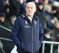 11th February 2020; Liberty Stadium, Swansea, Glamorgan, Wales; English Football League Championship, Swansea City versus Queens Park Rangers; Mark Warburton, Manager of Queens Park Rangers looks onto the pitch before kick off