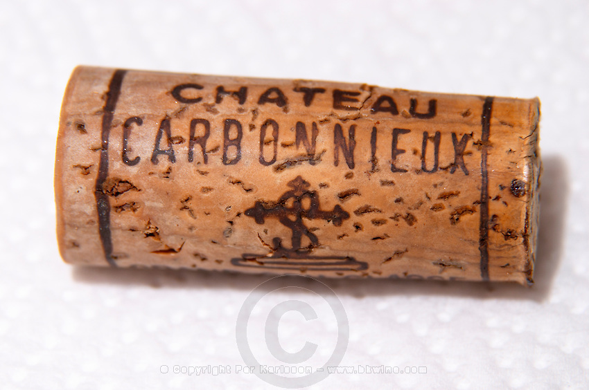 cork chateau carbonnieux bordaux france