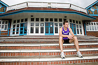 23 JUL 2008 - LOUGHBOROUGH, UK - 400m runner David Gillick - Beijing Bound Loughborough Students and Graduates. (PHOTO (C) NIGEL FARROW)