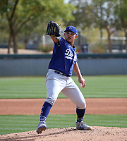 Julio Urias - Los Angeles Dodgers 2020 spring training (Bill Mitchell)