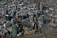 aerial photograph of Petco Park and vicinity, San Diego, California