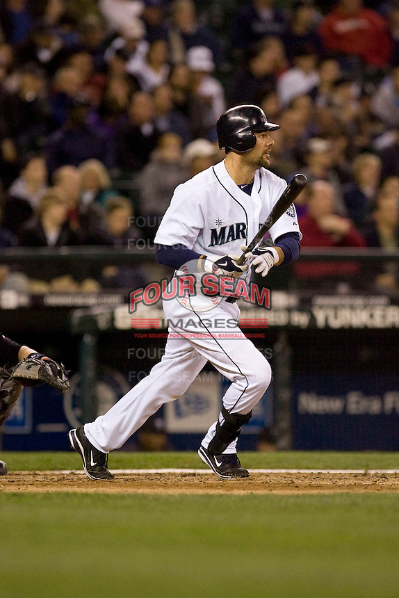 May 19, 2010: Seattle Mariners' Casey Kotchman (13) at-bat against the Toronto Blue Jays at Safeco Field in Seattle, Washington.