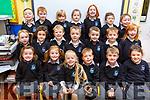 Ms O'Carroll's Junior infants class in Scoil Nuachabhail.