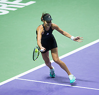 ANA IVANOVIC (SRB)<br /> <br /> The BNP Paribas WTA Finals 2014 - The Sports Hub - Singapore - WTA  2014  <br /> <br /> 24 October 2014<br /> <br /> &copy; AMN IMAGES
