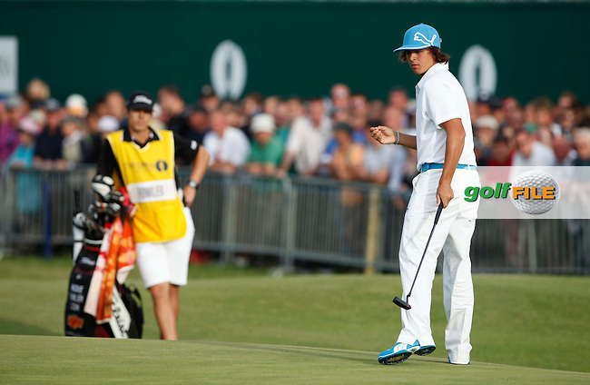 Rickie Fowler (USA) in action during the second round of the 140th Open Championship played at Royal St George's Golf Club on 15th July 2011 in Sandwich, Kent, England (Picture Credit / Phil INGLIS  / www.golffile.ie