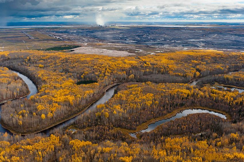 MaKay River. Alberta Tar sands, Alberta Oil Sands MacKay River and Alberta Tar/Oil Sands.