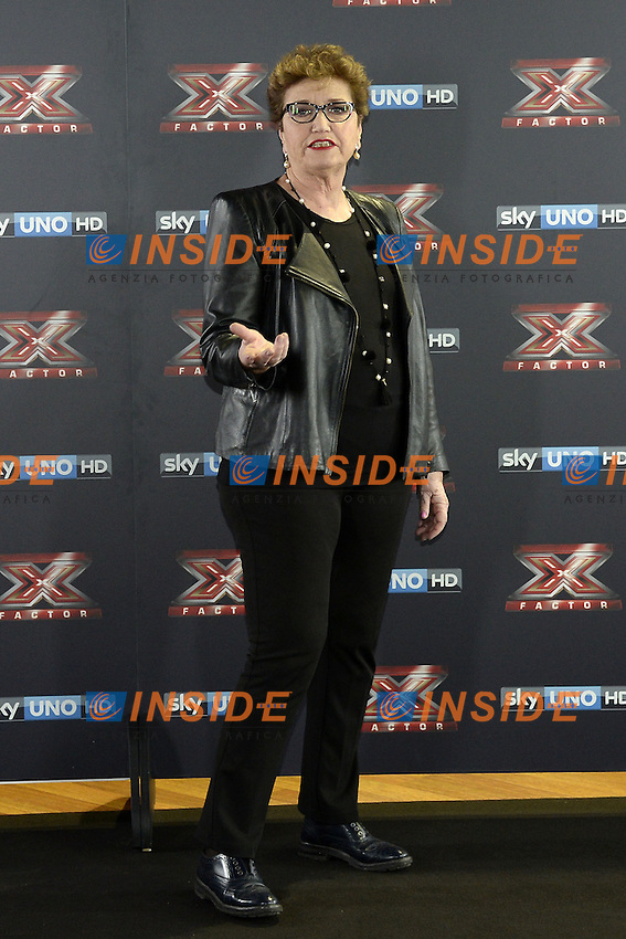 Db Milano 26/10/2016 - photocall trasmissione Tv 'X-Factor' / foto Daniele Buffa/Image/Insidefoto <br /> nella foto: Mara Maionchi
