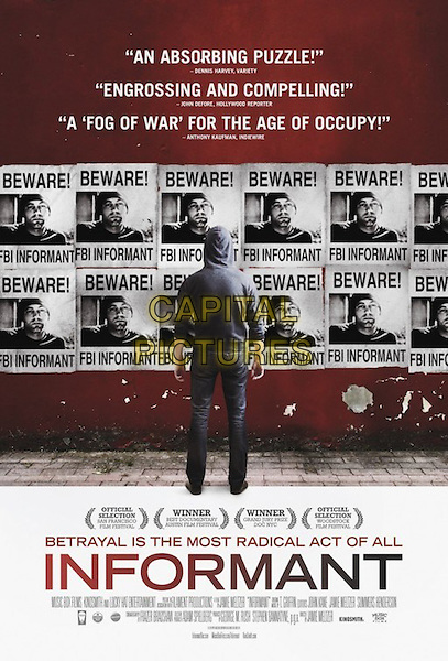 POSTER ART<br /> in Informant (2012) <br /> *Filmstill - Editorial Use Only*<br /> CAP/FB<br /> Image supplied by Capital Pictures
