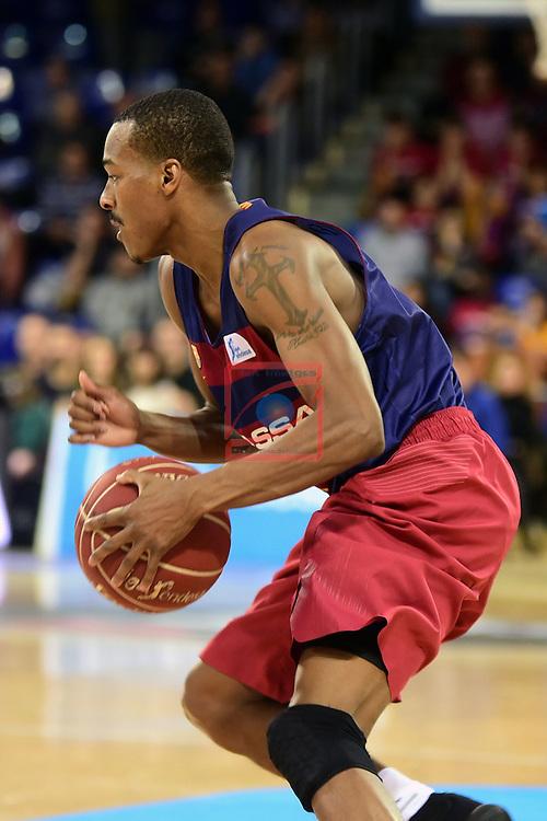 League ACB-ENDESA 2016/2017 - Game: 13.<br /> FC Barcelona Lassa vs Divina seguros Joventut: 79-77.<br /> Alex Renfroe.