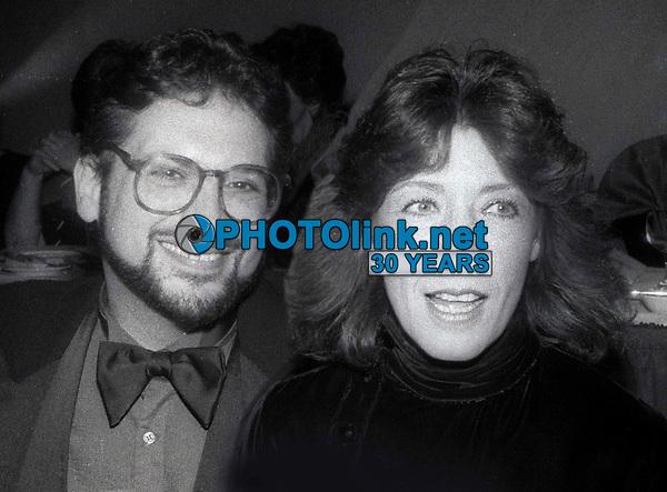Harvey Fierstein Lily Tomlin 1987<br /> Photo By John Barrett/PHOTOlink