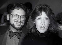 Harvey Fierstein Lily Tomlin 1987<br /> Photo By John Barrett/PHOTOlink