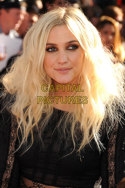 Ashlee Simpson <br /> &quot;Planes&quot; Los Angeles Premiere held at the El Capitan Theatre, Hollywood, California, USA.<br /> August 5th, 2013<br /> headshot portrait black lace <br /> CAP/ADM/BP<br /> &copy;Byron Purvis/AdMedia/Capital Pictures