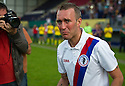 Fernando Ricksen Testimonial : Fernando Ricksen is emotional as he comes on as sub.