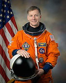 Individual portrait of STS-135 commander Chris Ferguson in Advanced Crew Escape Suit (ACES) taken in Houston, Texas on February 11, 2011.  STS-135, the last space shuttle mission, is scheduled for launch on Friday, July 8, 2011..Mandatory Credit: Bill Stafford / NASA via CNP