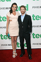 Clare Grant and Seth Green at the premiere of Universal Pictures' 'Ted' at Grauman's Chinese Theatre on June 21, 2012 in Hollywood, California. &copy;&nbsp;mpi21/MediaPunch Inc. NORTEPHOTO.COM<br />