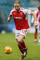 Paddy Madden of Fleetwood Town during the Sky Bet League 1 match between Gillingham and Fleetwood Town at the MEMS Priestfield Stadium, Gillingham, England on 27 January 2018. Photo by David Horn.