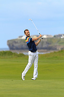 Stephen Loftus (Lahinch) on the 12th during Round 3 of The South of Ireland in Lahinch Golf Club on Monday 28th July 2014.<br /> Picture:  Thos Caffrey / www.golffile.ie