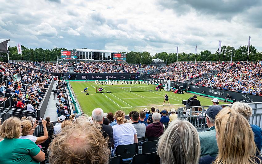 Rosmalen, Netherlands, 16 June, 2019, Tennis, Libema Open, Kiki Bertens (NED) on centercourt<br /> Photo: Henk Koster/tennisimages.com