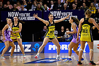 Pulse&rsquo; Karin Burger in action during the ANZ Premiership - Pulse v Stars at TSB Arena, Wellington, New Zealand on Monday 13 May 2019. <br /> Photo by Masanori Udagawa. <br /> www.photowellington.photoshelter.com