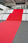 Frankreich, Provence, Cote d'azur, Cannes, der rote Teppich am Festspielhaus, <br /> Engl: France, Provence, Cote d'azur, Cannes, the Red Carpet at the festival theater, 4.4.2015