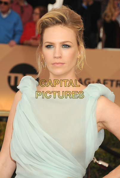 30 January 2016 - Los Angeles, California - January Jones. 22nd Annual Screen Actors Guild Awards held at The Shrine Auditorium.      <br /> CAP/ADM/BP<br /> &copy;BP/ADM/Capital Pictures