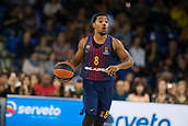 3rd November 2017, Palau Blaugrana, Barcelona, Spain; Turkish Airlines Euroleague Basketball, FC Barcelona Lassa versus Olympiacos Piraeus; 8 PRESSEY, PHIL of FC Barcelona Lassa in action during the match of round 5 of regular season in the 2017/2018 Turkish Airlines EuroLeague