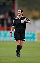 Referee Amy Rayner during the Blue Square Premier match between Stevenage Borough and Salisbury City at the Lamex Stadium, Broadhall Way, Stevenage on 17th October, 2009.© Kevin Coleman 2009 .