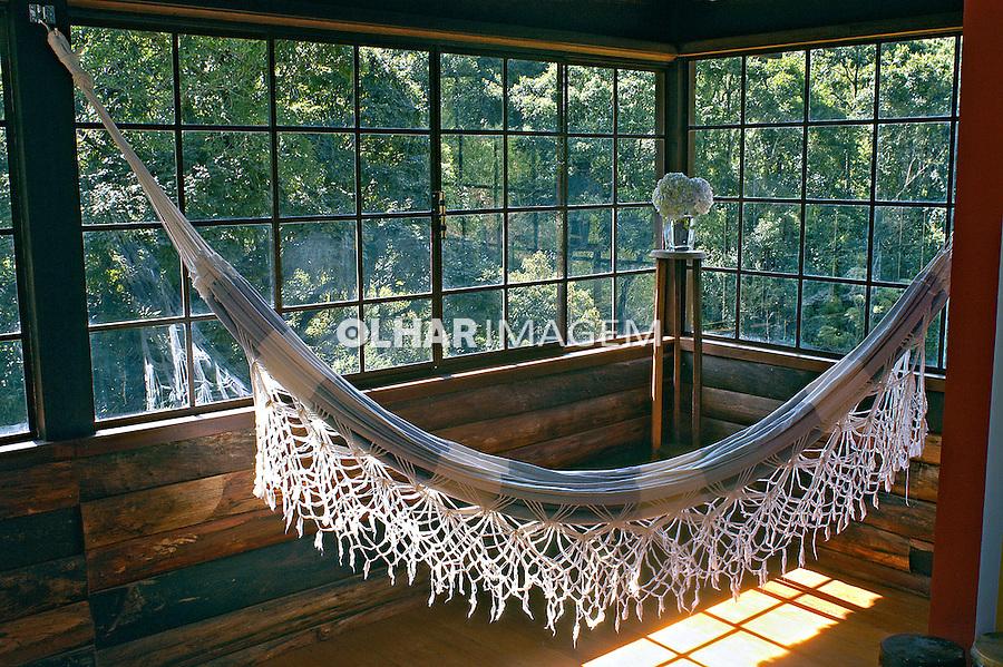 Sala de estar em casa de campo. Visconde de Mauá. RJ. Foto de Renata Mello.
